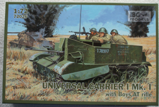 IBG Models 1/72 72026 Universal Carrier MK.I with Boys AT Rifle